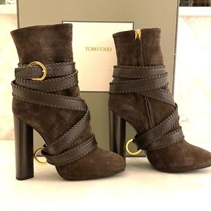 NWB AUTHENTIC TOM FORD BOOTIES